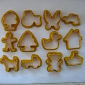 Формочки для печенья или лепки, 12шт. в наборе. Укрпочта 8 грн.