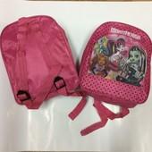 Дошкольный Рюкзачек для девочки  Monsterhigh 2 вида. УП 10.