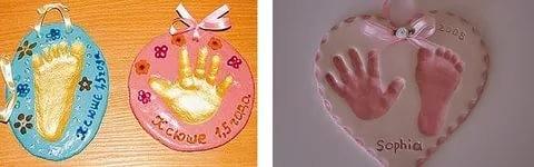 Как сделать детский отпечаток руки