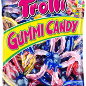 Лот 0.5 кг Жевательные конфеты Trolli Осьминоги