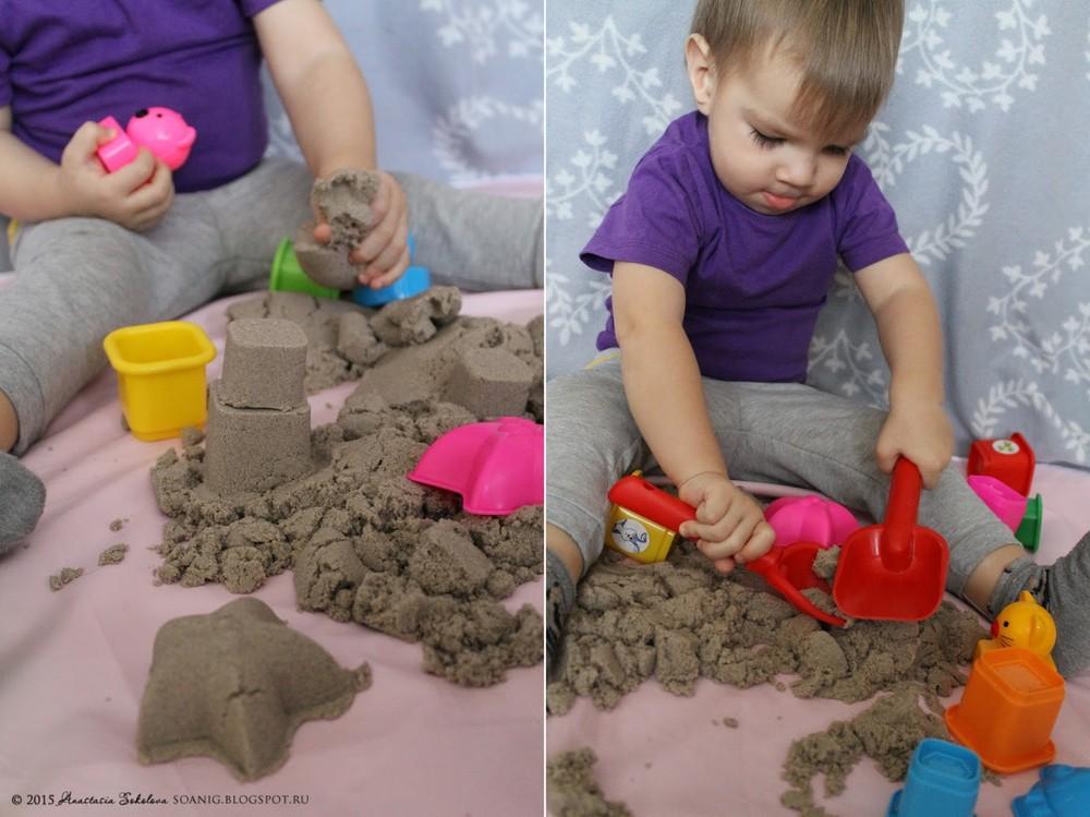 Кинетический песок что своими руками 193