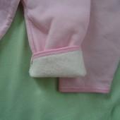 Штанишки утепленные для малышей 0-6м Лот - 2 шт
