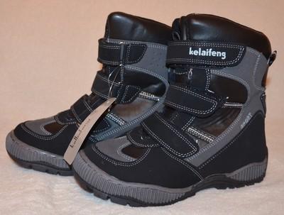 825b958d195830 Зимние термо ботинки сапоги для мальчика 34 35 размеры в наличии - Фото №1