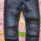 крутые джинсы от name it 134р. 8-10лет сост.новых