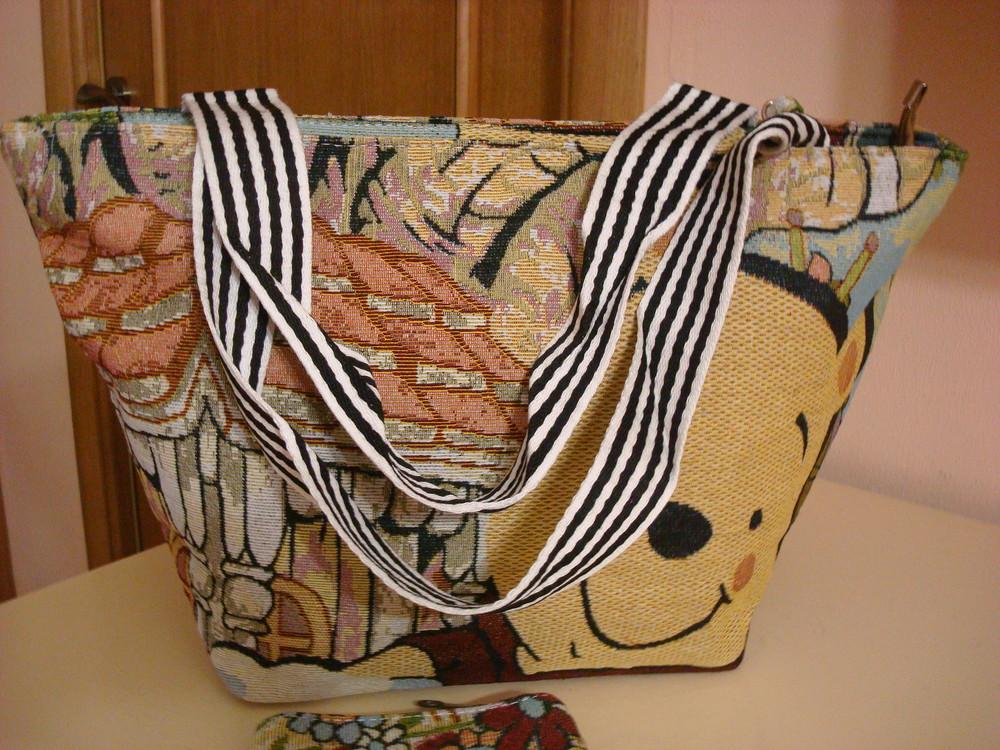 Стильные сумки из ткани