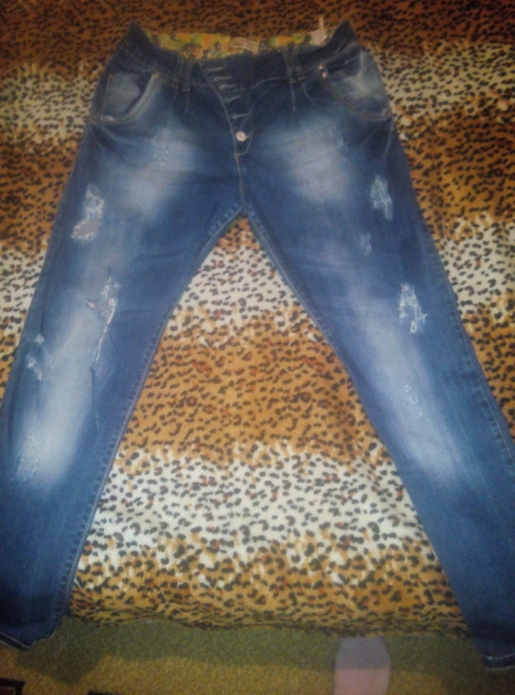 джинсы бойфренды 48 р установки