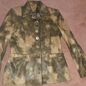 Приталенный пиджак на подкладке