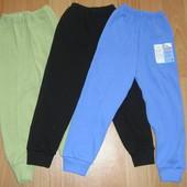 Тонкие дышащие штанишки без начеса! Размеры 92-116! Смотрите наличие и размеры!