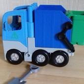 мусоровоз..аналог Лего Дупло