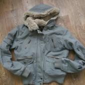 Теплая куртка демисезонная М