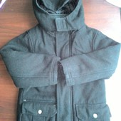 теплое пальто для мальчика