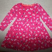 Хлопковое платье, 18-24 месяца