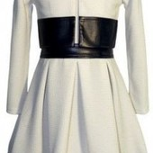 Новый костюм- двойка с кожаными вставками размер 36 на 7-8 лет, Доставка при получении!