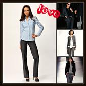 Всегда стильно,модно!!!Женские прямые классические брюки!!!Размер 25!