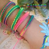 Аксесуари для святкування дня народження в стилі Rainbow Dash