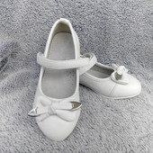 белые туфельки, 16,5 см стелька