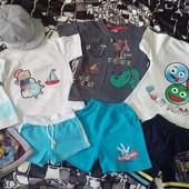 Футболки и шорты для мальчика на выбор
