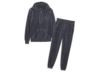 a2721a0f23c1 Красивеный модный цвет черника велюровый костюм 100% оригинал Esmara  Германия р Л,ХЛ