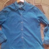 Джинсовая рубашка 5ХЛ.Смотрите замеры