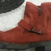 Стильні замшеві черевики
