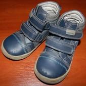 Ортопедические кожаные Деми ботиночки для мальчика
