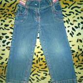 Стильные джинсы George для маленькой модницы на 2-3 года