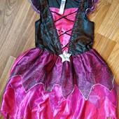 Очень красивое карнавальное платье принцессы, звездочки