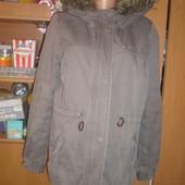 Куртка парка, внутри шерпа, размер М. Divided