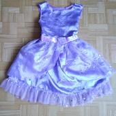 Платье Софии прекрасной, 2-3 года, пышная юбка, см.замеры