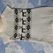 Вязания туника на рост 152-158. На девочку или худенькую мамочку.