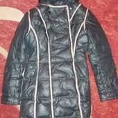 Стеганная зимняя куртка