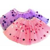 Шикарная юбка tutu на 5-7 лет.