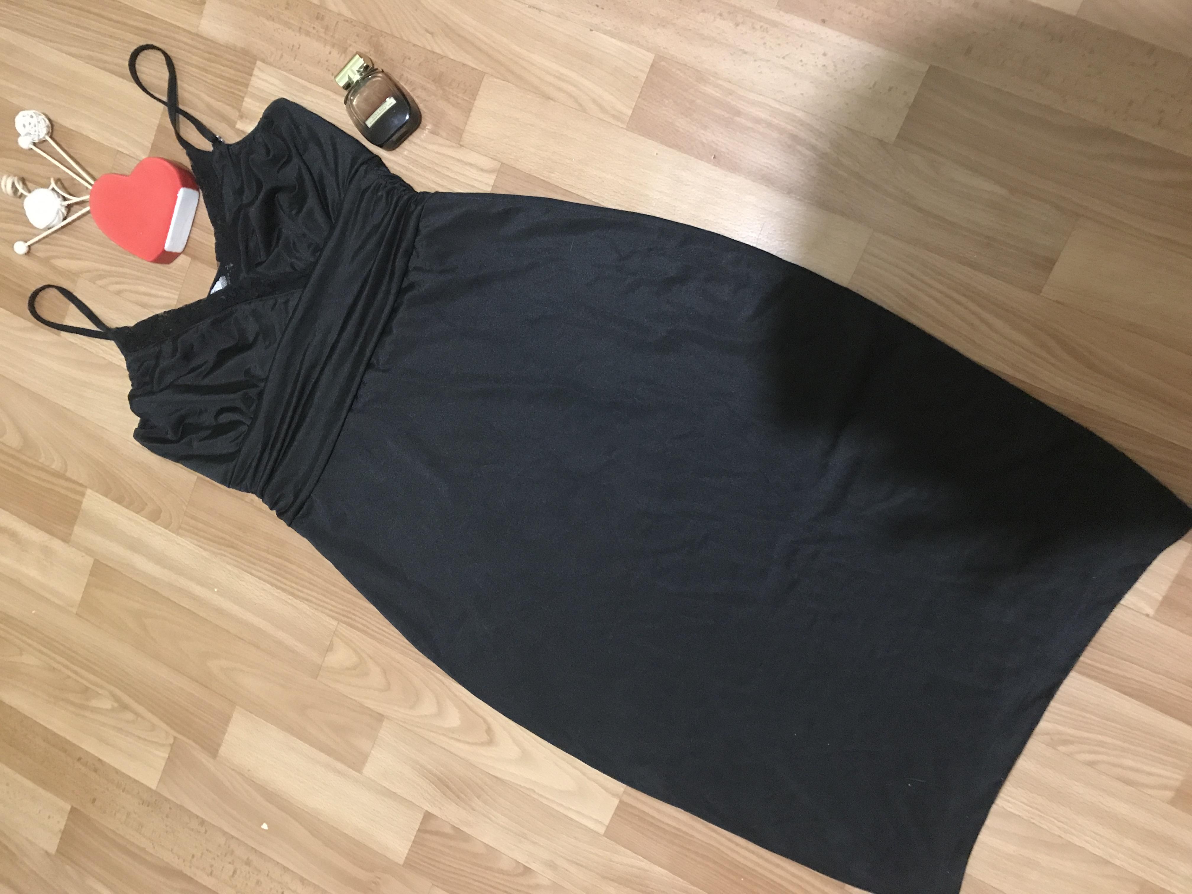 Элегантное чёрное платье Bon Prix