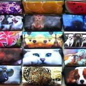 Новинка❤Клатч-пенал-косметичка❤выбираем подарки с шикарными,яркими принтами котЭ,собак,Lol,мульты..