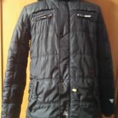 Куртка, внутри флис, размер на 12-13 лет 158-164 см. charles vögele, состояние отличное