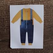Флисовая поддева под зимний комбинезон, комбинезон, пижамка с мультика от Disney 5 лет (110см)