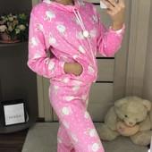 Няшная,суперская махровая пижама)))О покупке не пожалеете)))