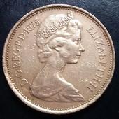 Монета Англии 1975 год, крупная монета!