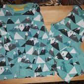 пижамка 5-6лет  M&S