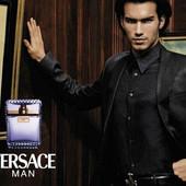 Мужской аромат  Versace Man 100 ml)) Италия))батч код