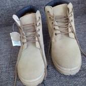 Ботинки фирмы Urban новые кожаные демисезонные