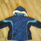 Тепла зимова куртка mini ungava 3р для дівчинки. Чудовий стан