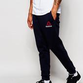 Теплие штани на флисе мужские спортивне трикотаж 3-ох нитка, Nike 46-62, Reebok 46-50