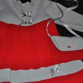 Стильное платье с сумочкой!