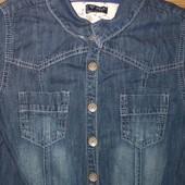 Фирменый джинсовый комбинезон NEXT на девочку 11 лет (рост 148)