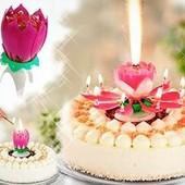 Музыкальная свечка-фейерверк понравится взрослым и детям!чудесный атрибут настоящего праздника!