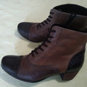 Демисезонные ботинки, нат. кожа, 39р.