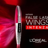 Тушь для ресниц Loreal 4X butterfly effect fibers intenza))срок до 2022 года))