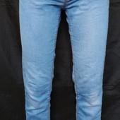 Голубые тонкие джинсы от Denim,8р(S,M)