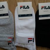 Носки мужские спортивние Fila - Турция р 41-45. лот 1 пара  по ставке можно докупить .